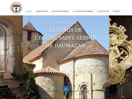 Le site des Amis de l'Eglise St Sernin de Daumazan est en ligne !!