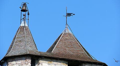 clocher église saint sernin daumazan