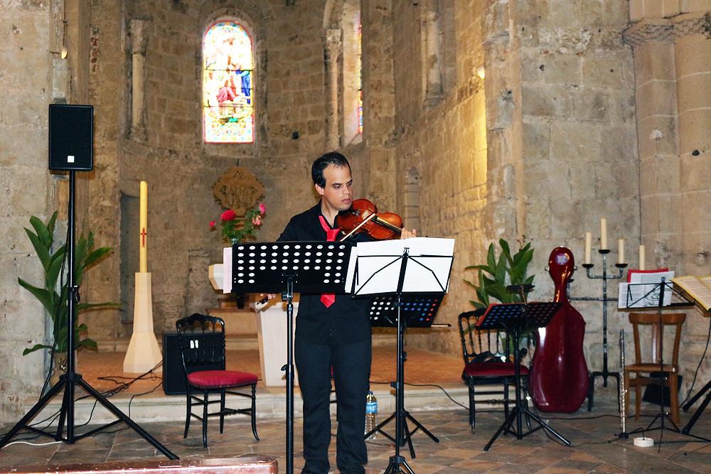 Jean-Benoît EVRARD au violon
