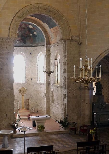 Nef église saint sernin daumazan gothique et romane