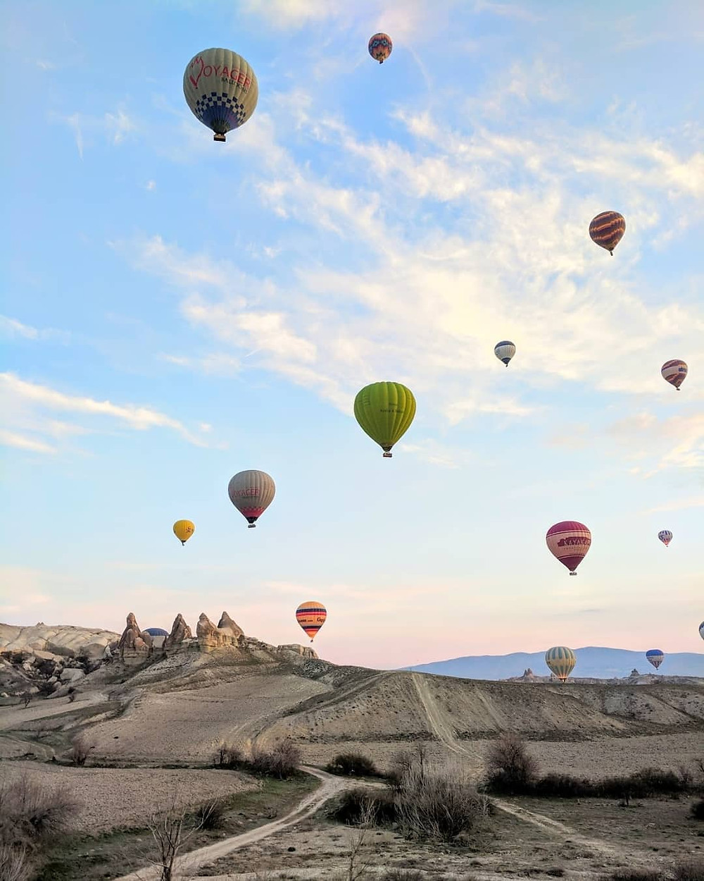 Most beautiful places in the world. Cappadocia, Turkey