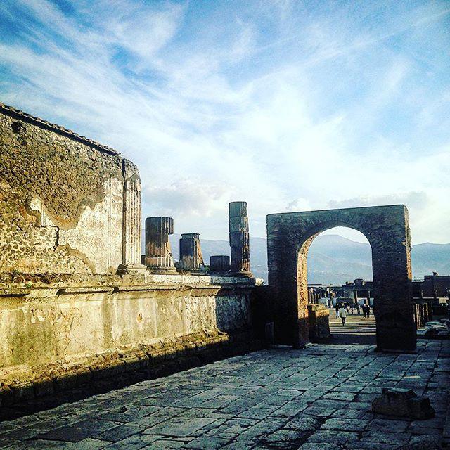 Pompeii Historical Site, Italy.