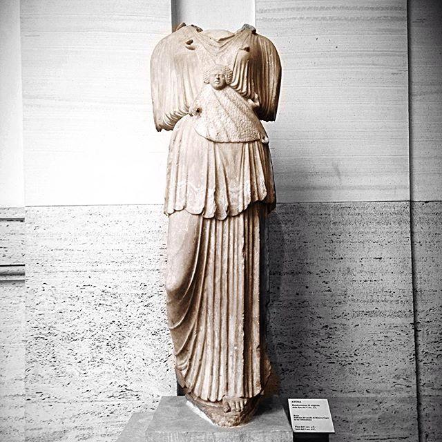 Statue of Athena in Rome.