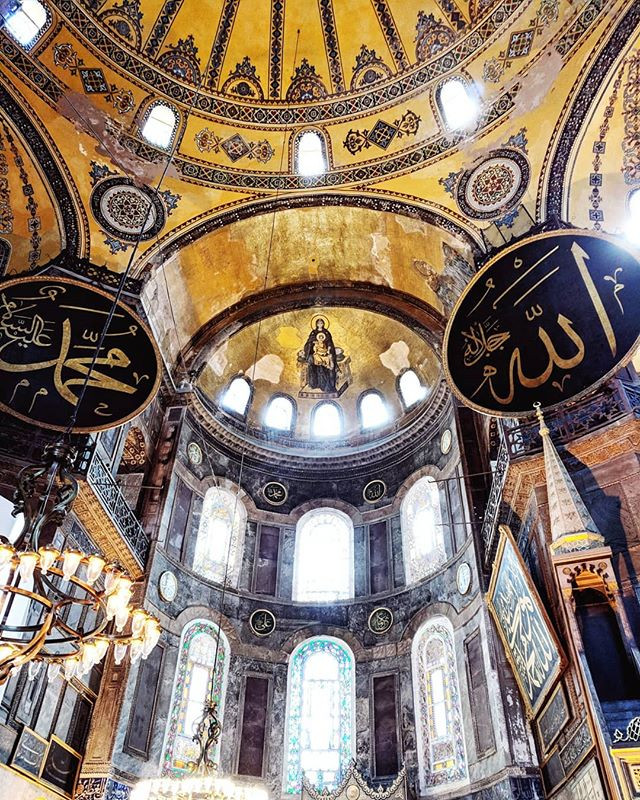 Places to travel to in Turkey. Istanbul, Visiting Hagia Sophia