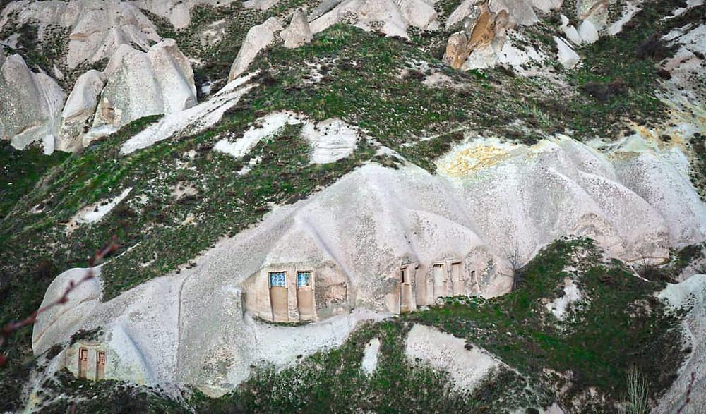 Cappadocia underground city. Open air museum in Cappadocia.  Awesome things to do in Cappadocia.