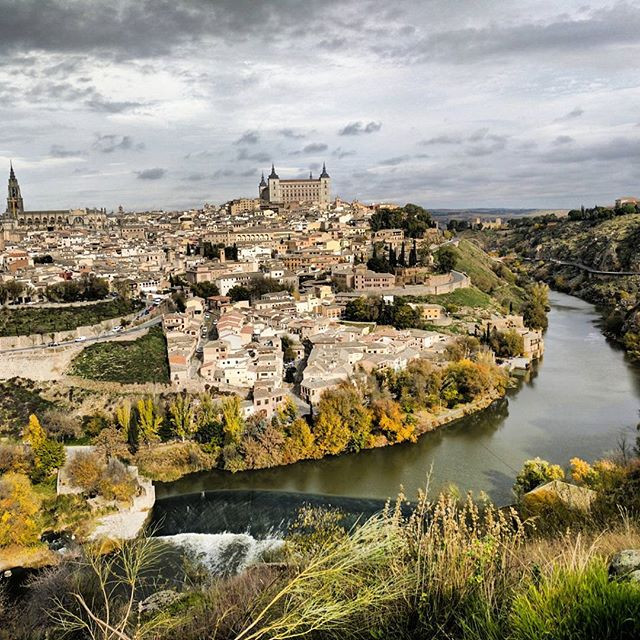 City view of Toledo, Spain.