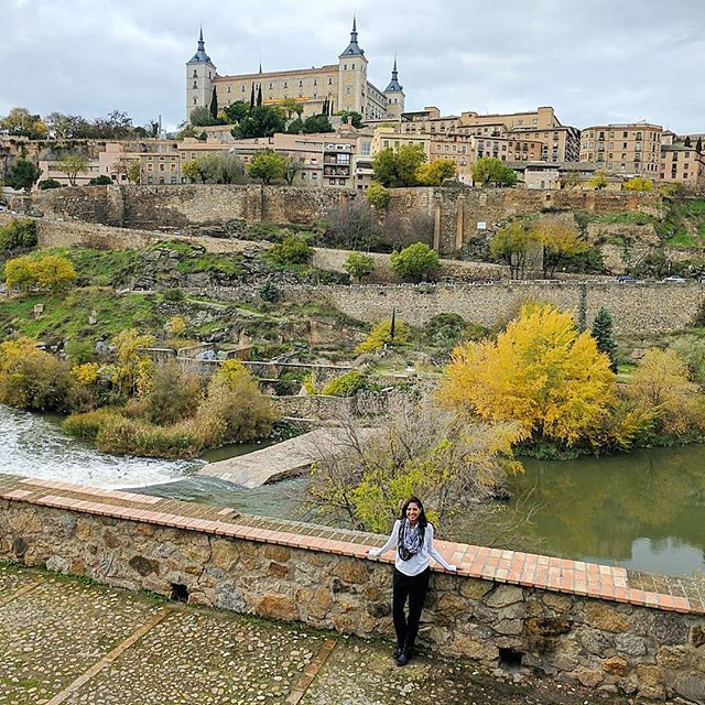 Visiting the cobble street town of Toledo in Spain.