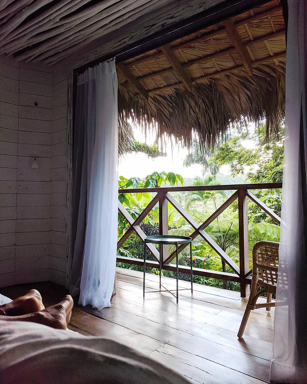 Unique hotel in the Samaná Peninsula. Dominican Republic Island.