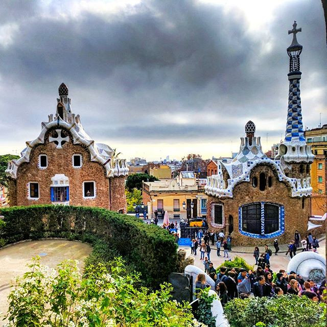 Antoni Gaudi's Park Guell in Barcelona.