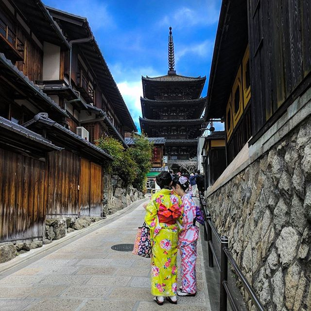 Kimonos in Japan