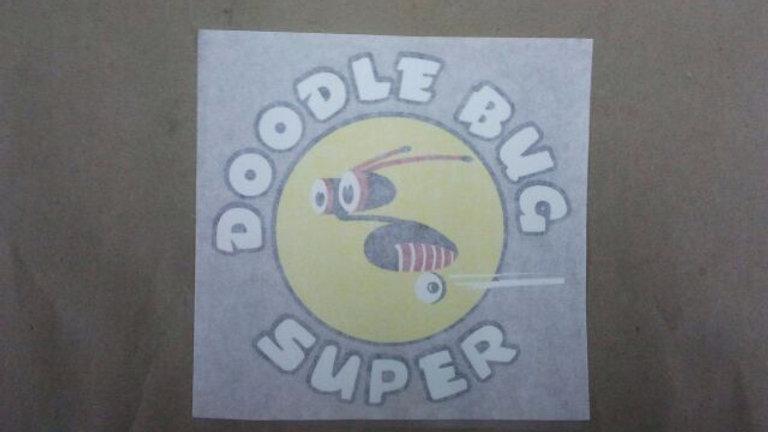 Doodle Bug shroud decal (each)