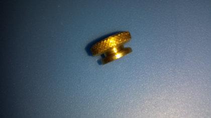 ~ Brass spark plug nut