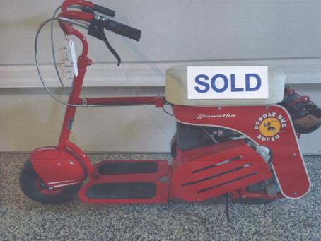 1948 Hiawatha Model E Doodle Bug Motor Scooter For Sale