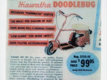 "Hiawatha Doodle Bug ""Sale"""