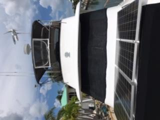 Forward solar panels