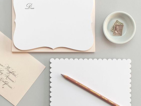 6 Tips for Writing a Thoughtful Handwritten Note
