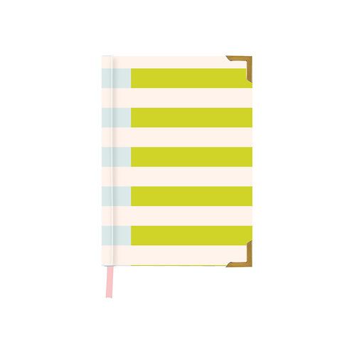Two Tone Mint Notebook