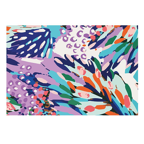 Blooming Color Wrapping paper