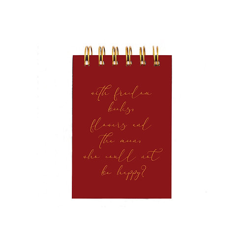 Freedom & Flowers Notepad