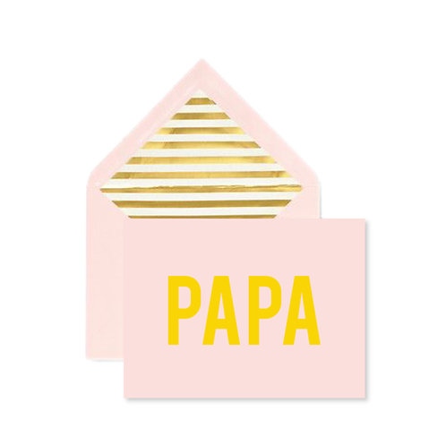 Papa Father's Day Notecard