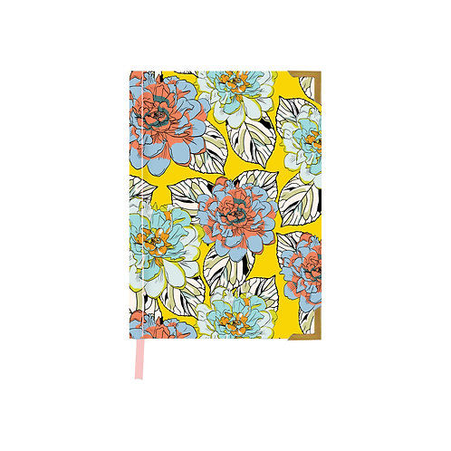 Brush Florals Diary