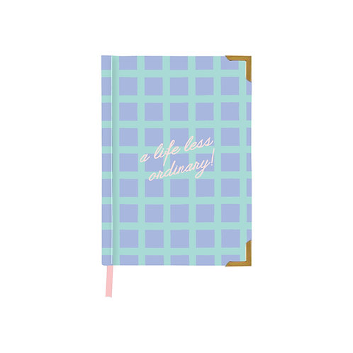 A life less ordinary notebook