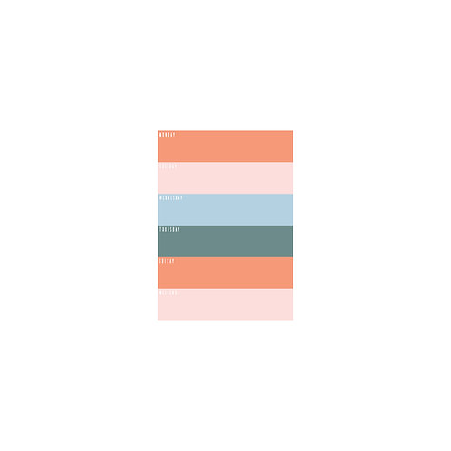 Everyday Colorblock Notepad