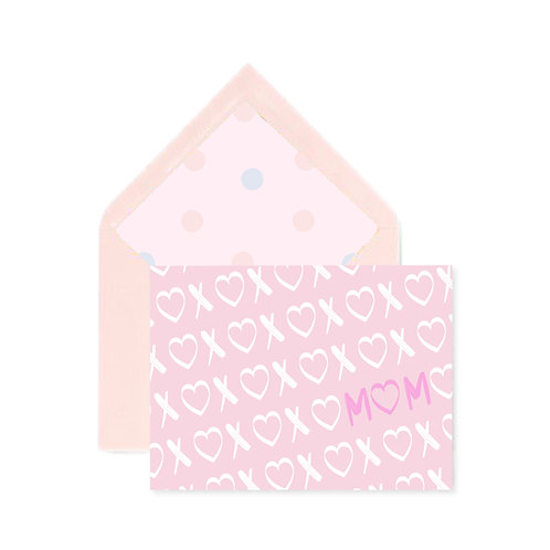 Hugs & Kisses Mother's Day Notecard
