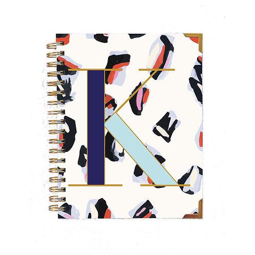 Monogrammed Initial Notebook