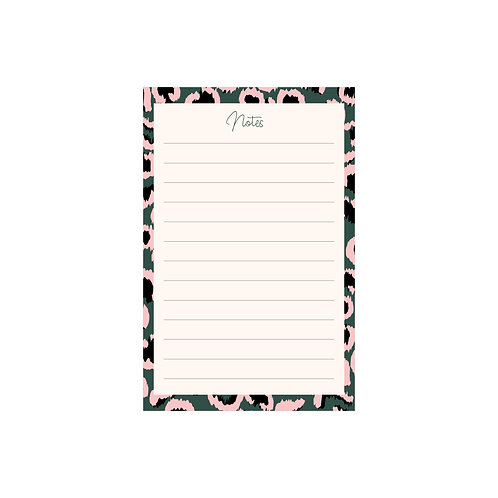 Pretty Cat Tearoff Notepad