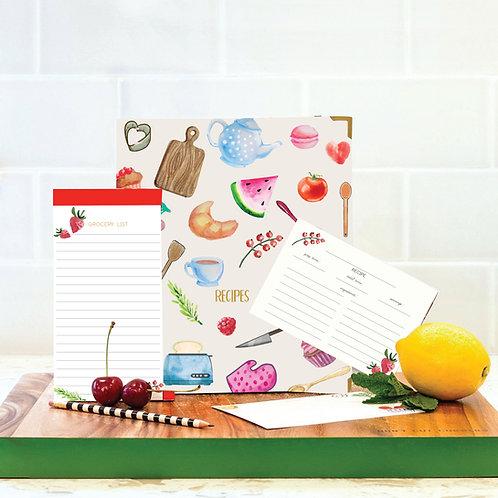 Flavor Recipe Book Set