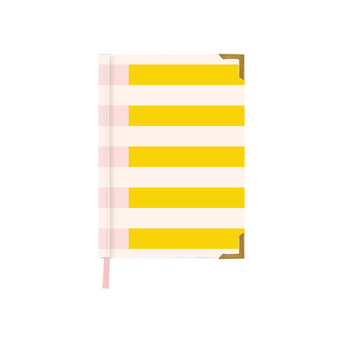 Two Tone Summer Pink Notebook