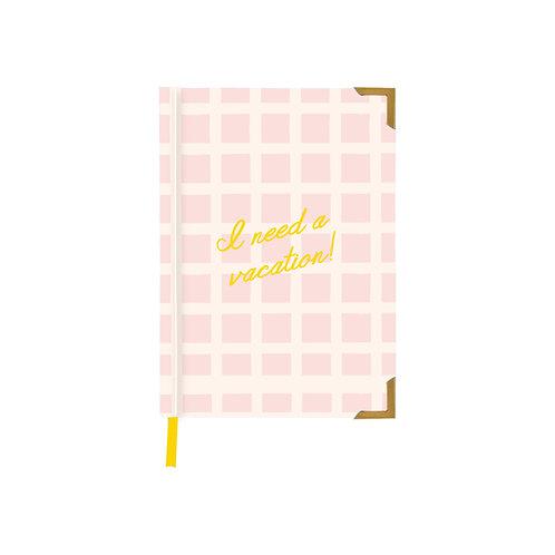 I need a vacation notebook