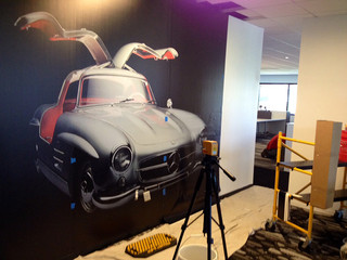 UPDATE: Mercedes Headquarters