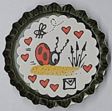 Magnet Marienkäfer Miki M3