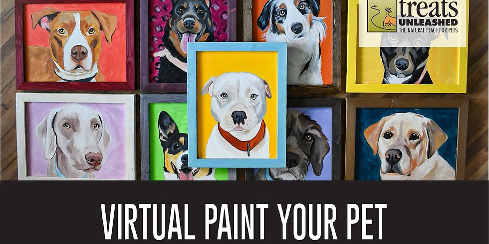 Paint Your Pet Virtual event with Treats Unleashed - Creve Coeur (1)