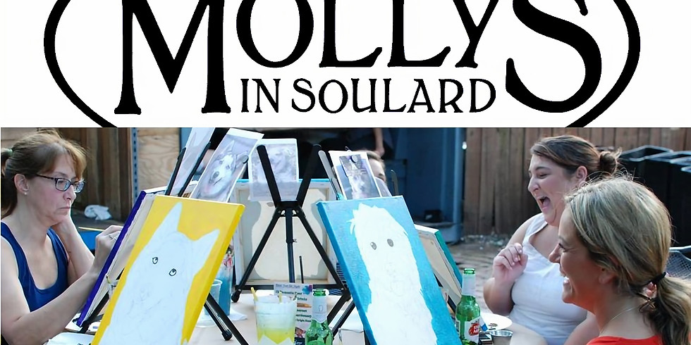 Paint Your Pet at Molly's in Soulard