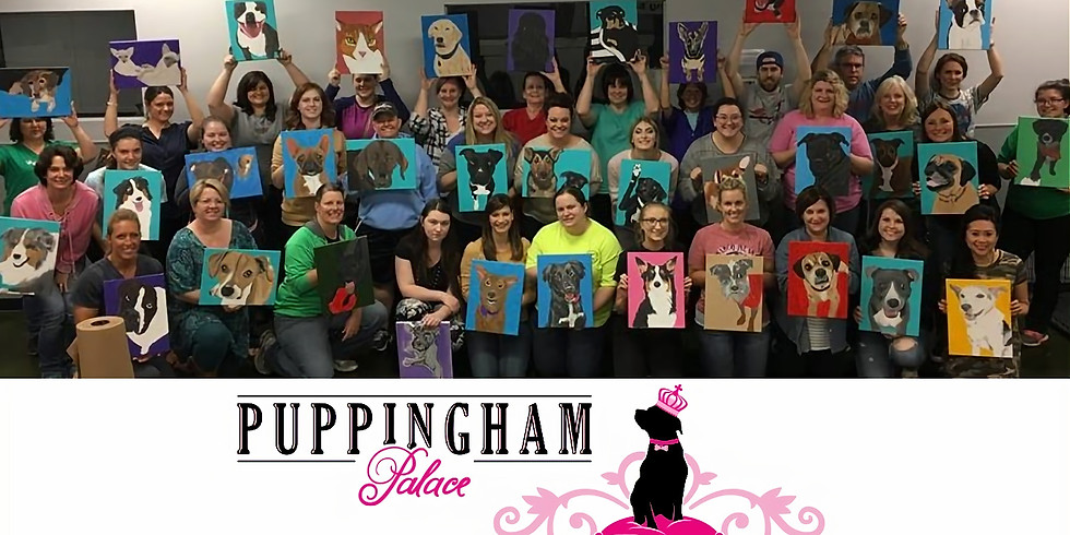 Paint Your Pet at Puppingham Palace!