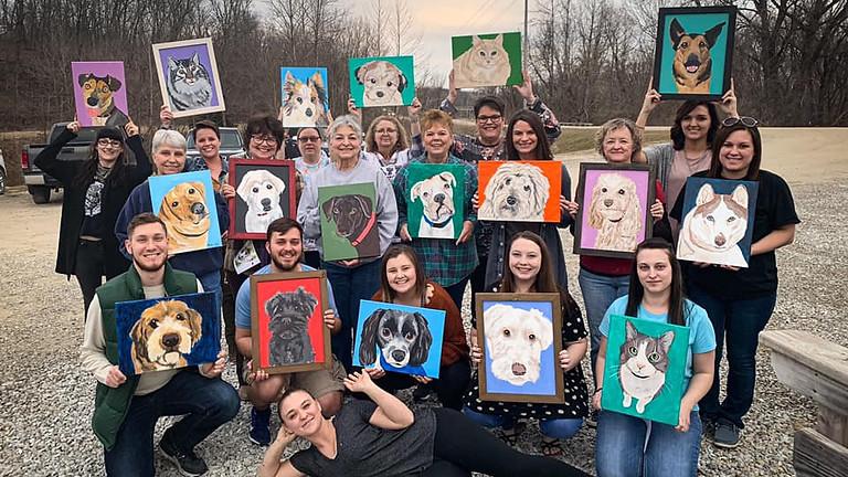 Paint Your Pet at Grafton Vineyards