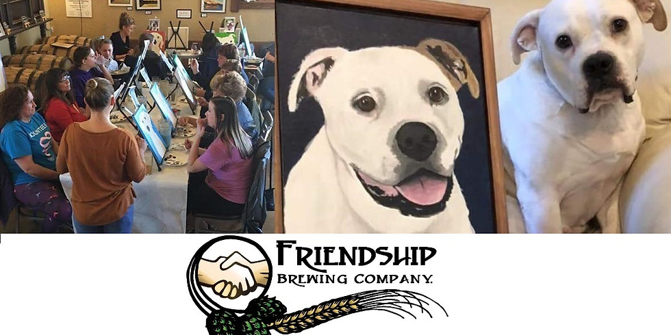 SOLD OUT Paint Your Pet at Friendship Brewing Co