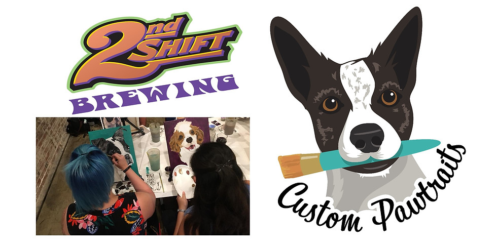 Paint Your Pet at 2nd Shift Brewing