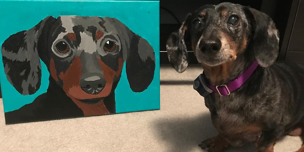 Private Paint Your Pet: Roxanne