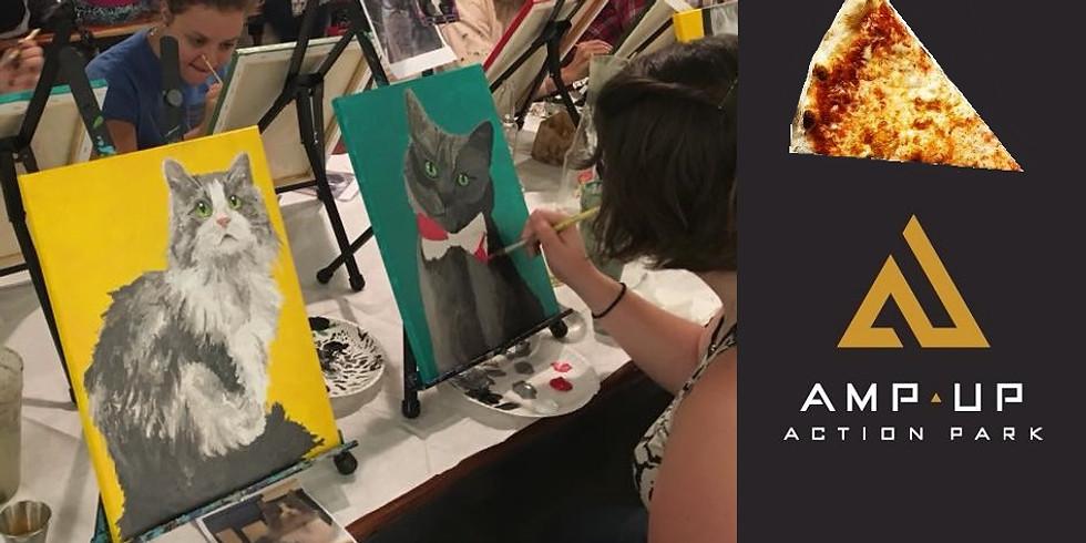 Paint Your Pet at Amp Up Action Park