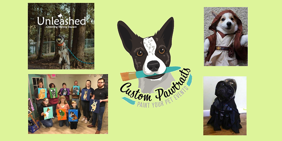 Paint Your Pet at Unleashed!