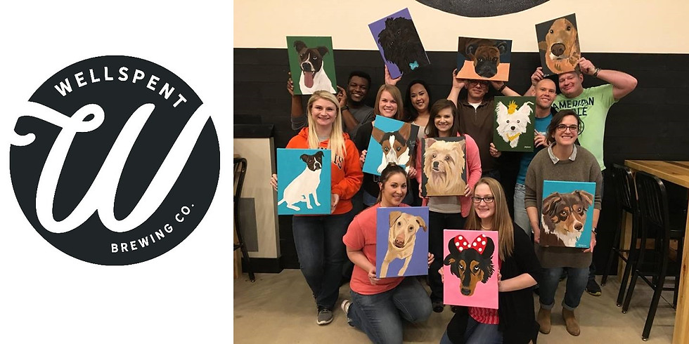 Paint Your Pet at Wellspent Brewing