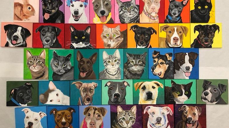 Paint Your Pet for Clare's House (PM)