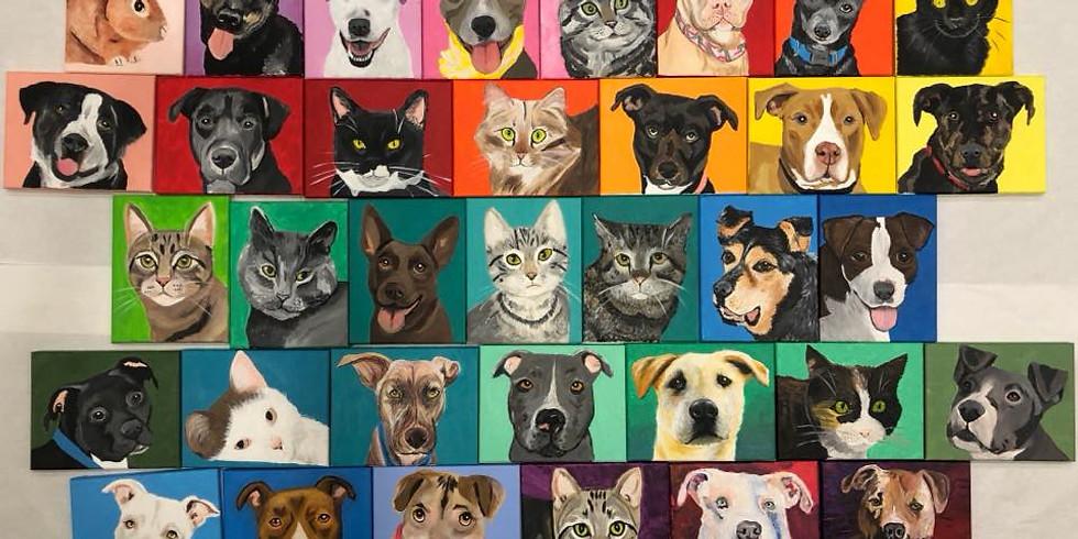Private Paint Your Pet: Dana's
