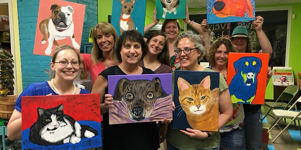 Paint Your Pet at Pawsitively Fintastic