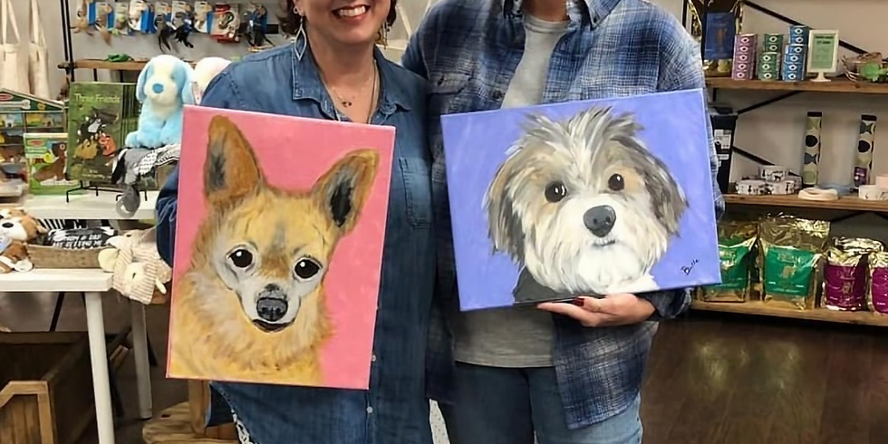 SOLD OUT Paint Your Pet at Loyal Bella Co.