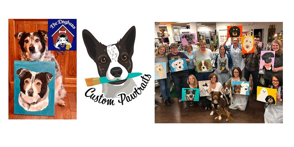 Paint Your Pet at The Doghaus
